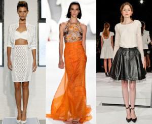 модная длина юбки