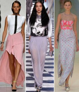 модные пышные юбки